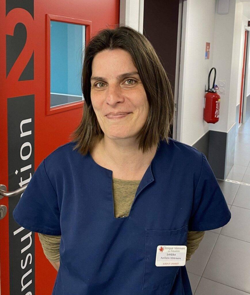 Sandra Lair Auxiliaire vétérinaire Spécialisée